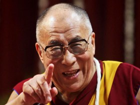 dalai-lama smile point